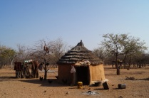 Hut in the Himba Village