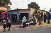 Market in Uliwa @ Northern Lake Malawi